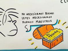 No necesitamos buenas leyes, necesitamos buenos maestros - http://www.academiarubicon.es/no-buenas-leyes-sino-buenos-maestros/