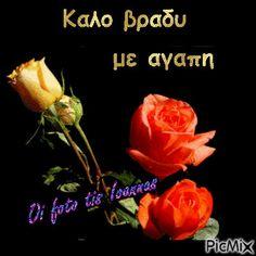 Good Night, Good Morning, Greek, Gardening, Rose, Google, Beautiful, Nighty Night, Bom Dia