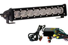 10 Inch Single Row LED Light Bars with Flood