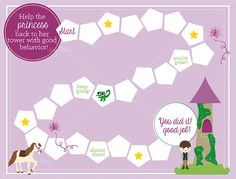 Rapunzel printable rewards chart by Key Lime