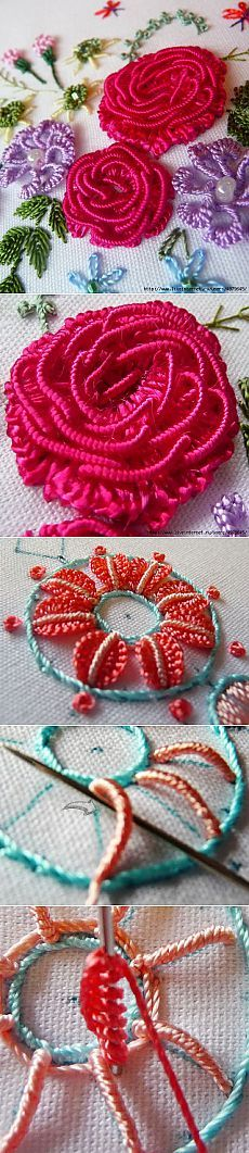 A stunningly beautiful BRAZILIAN EMBROIDERY - IDEAS AND MASTER CLASSES.
