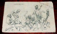 Postales: POSTAL CARICATURA PROTECTORADO ESPAÑOL EN MARRUECOS, 1925, FUTBOL, ILUSTRADOR GAMONEDA, FERNANDEZ ES - Foto 1 - 56733229