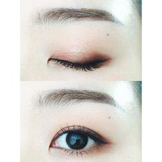 """#InstaSize #눈스타그램 #뷰스타그램 #메이크업 #데일리 #눈화장 #오늘의화장 #코덕 #섀도우 #makeup #eyemakeupoftheday #eyemakeup #potd #motd #eotd #eyeshadow #daily #化妝 #メイク #今日のメイク .…"""
