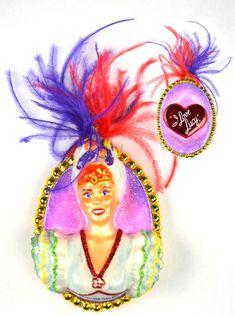 I Love Lucy Carmen Miranda Polonaise Ornament | LucyStore.com, $45.95