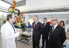 Visitando el Instituto Tecnológico del Plástico, AIMPLAS