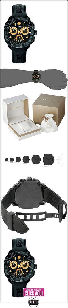 Versace reloj hombre Dylos Chrono PVQC02-P0015 PNUL  ✿ Relojes para hombre - (Lujo) ✿ ▬► Ver oferta: https://comprar.io/goto/B00V87OYWO