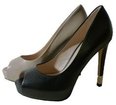 Stilettos high heels peep toes pumps by Guess