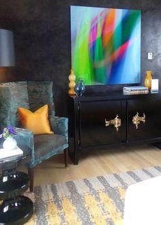 Designer Visions apartment   Jamie Drake (Drake Design Associates) for House Beautiful
