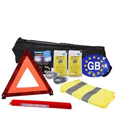 European Travel Motoring Kit For Driving In Europe With Euro GB Sticker &…