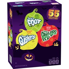 Halloween Fruit, Halloween Trick Or Treat, Strawberry Fruit, New Fruit, Grape Juice Concentrate, Fruit Roll Ups, Cupcakes, Fruit Snacks, Treats