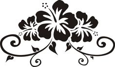 Hawaiian Tiki Decals | ... Design Decal Sticker Wall Art Graphic Flower Hawai Hawaiian Tiki