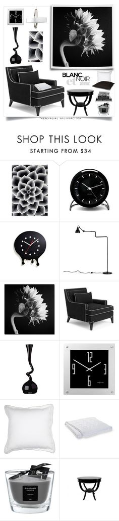 """Blanc Et Noir Home"" by theseapearl on Polyvore featuring interior, interiors, interior design, maison, home decor, interior decorating, Alliyah, Rosendahl, World Friendly World et Kate Spade"