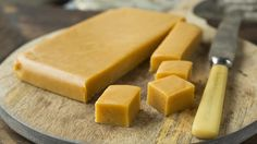 Vaniljefudge på fire ingredienser