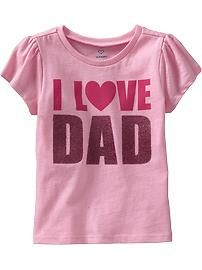 Toddler Girl Clothes | Old Navy# destiny loves her daddy