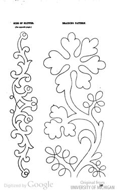 soutache embroidery pattern Godey's civil war era