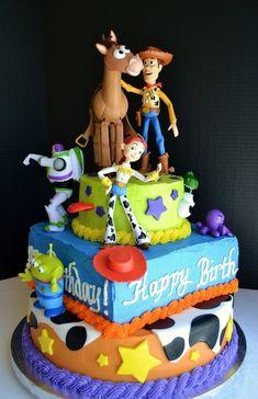 Toy Story Birthday Cake #beloved lifestyle