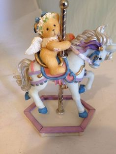 Cherished Teddies  Hang on Were in for a Wonderful ride  ( Crystal)