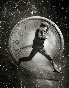 Hurried man, racing against time, space/Kevin Kirby