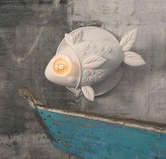 Aprile wall lamp. Structure in white ceramic. www.karmanitalia.it www.rclicht.nl