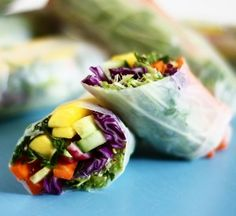 summer rolls, to make for lunch