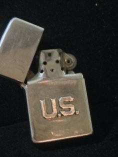 Vintage Zippo Lighter with US Army Collar by BlackCatBoneVintage, $26.00