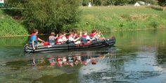 Kanutour auf der Unstrut Memleben #Abenteuer #Boote #Bootsfahrt