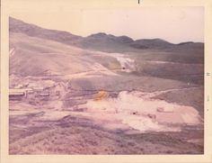 Vista de la mina Sinchao y la Planta concentradora MINCOSA.