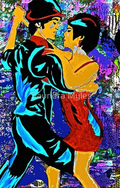Tango:   Dance the Tango With Me My Love