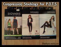 Compression Stockings for People with POTS #PosturalOrthostaticTachycardiaSyndrome #Dysautonomia #Syncope