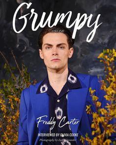 Freddy Carter, Bones Netflix, My Man, I Love Him, My Boys, Beautiful People, Interview, Photoshoot, Photography