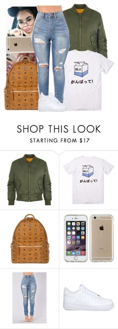 """""""Sans titre #28"""" by kabengeleleslie on Polyvore featuring mode, WearAll, MCM, Speck et NIKE"""