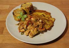 Gracias a Luis y Olatz, hoy en Cookoroko subimos una receta colombiana espectacular. DIFICULTAD: Intermedia TIEMPO: 45 mins INGREDIENTES: para 4 personas 1 cebolla 1 pimiento rojo 1 pimiento verde…