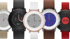 Smartwatchmaker Pebble heeft zijn eerste ronde smartwatch onthuld: de Pebble Time Round.