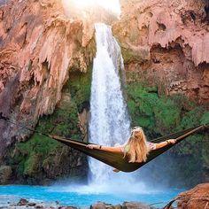 Havasu Falls, Arizona - : @travisburkephotography via @epic - FOLLOW @epic @epic @epic !