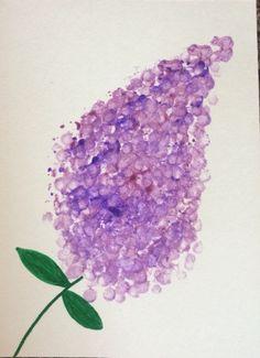 Q-tip lilacs