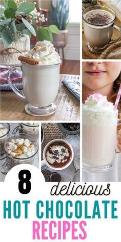Hot Cocoa Recipe, Hot Chocolate Recipes, Chocolate Treats, Chocolate Pudding, Apple Recipes, Pumpkin Recipes, Diy Halloween Food, Food Themes, Winter Recipes