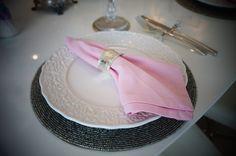 Detalhe do guardanapo do jantar