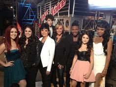 #TeamShakira looking amazing before their #Knockouts #VoiceUnlimited