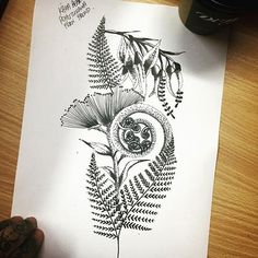 Ideas Flowers Design Tattoo Sketches Drawings For 2019