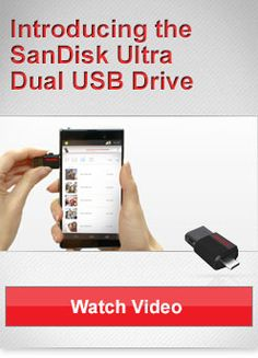 SanDisk Ultra Dual USB Drive: Transfer Files Easily from Your Smartphone