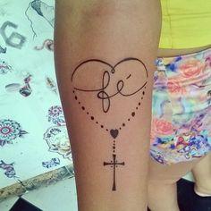 "21 Likes, 1 Comments - Guto Gomes (@gutogomes_tattoo) on Instagram: ""Juliete muito obrigado;sua tattoo ficou lindaa!! #tattoo #tatuagem #fé #faith #fetattoo…"""