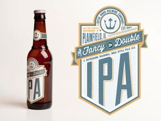 IPA Beer Label by Cameron Parker
