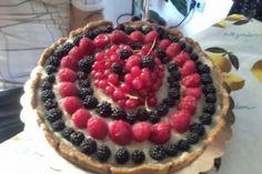 torta frutti di bosco light