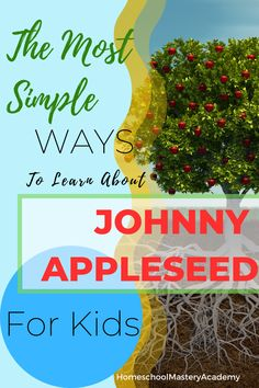 Johnny Appleseed Family Unit Study #unitstudy #unitstudies #homeschool #homeschooling #johnnyappleseed Homeschool Curriculum Reviews, Homeschool Books, Homeschool High School, Johnny Appleseed, Homeschool Kindergarten, Unit Studies, Lessons Learned, Super Simple, Parenting Tips
