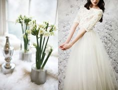 Anne Sage, she always has amazing images on her blog.. would love the top part of this wedding gown for a top!