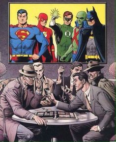 Justice League by Brian Bolland