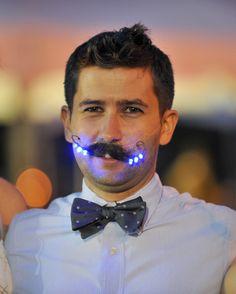 LED Eyelashes And Accessories Awe At Awards Ceremony