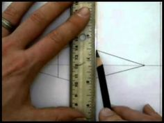▶ 2 Point Perspective Part 1 - YouTube - Drawing