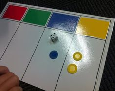"""A Trading Game. Use colored chips and students trade a specified number of chips for the next """"highest"""" chip. Teaches them how to borrow or regroup when doing math problems. Sounds like a great foundation for regrouping. Fun Math, Math Games, Math Activities, Maths, Science Fun, Math Classroom, Kindergarten Math, Teaching Math, Teaching Ideas"""