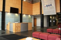 Adva Optical Newtworking Lobby, Offices done by Facilitec